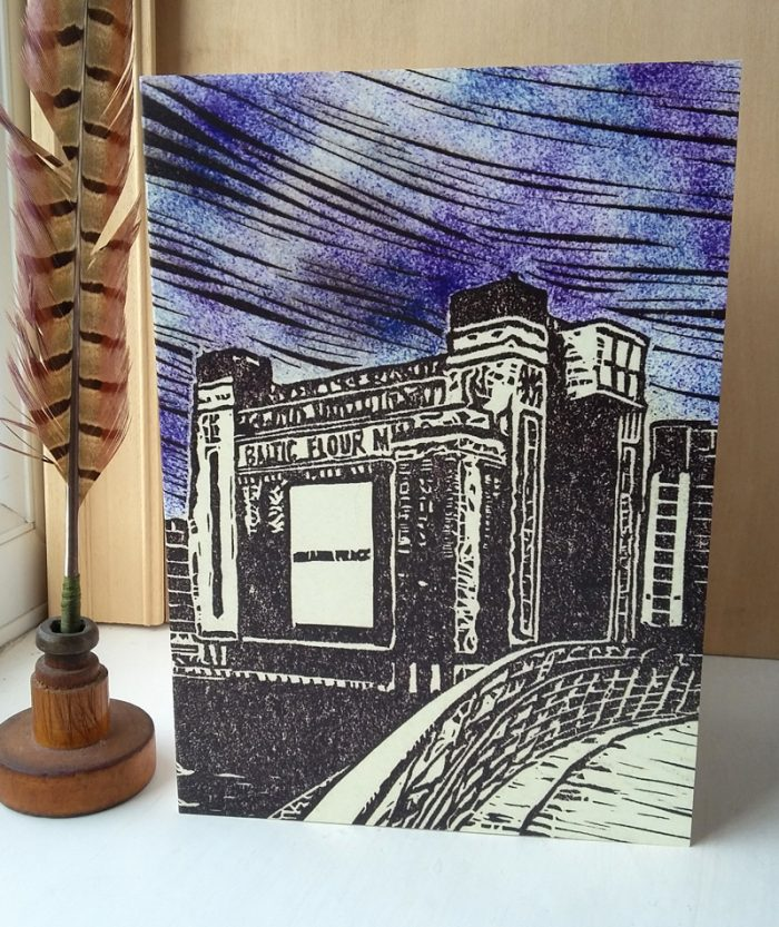 Baltic Mill A5 greetings card