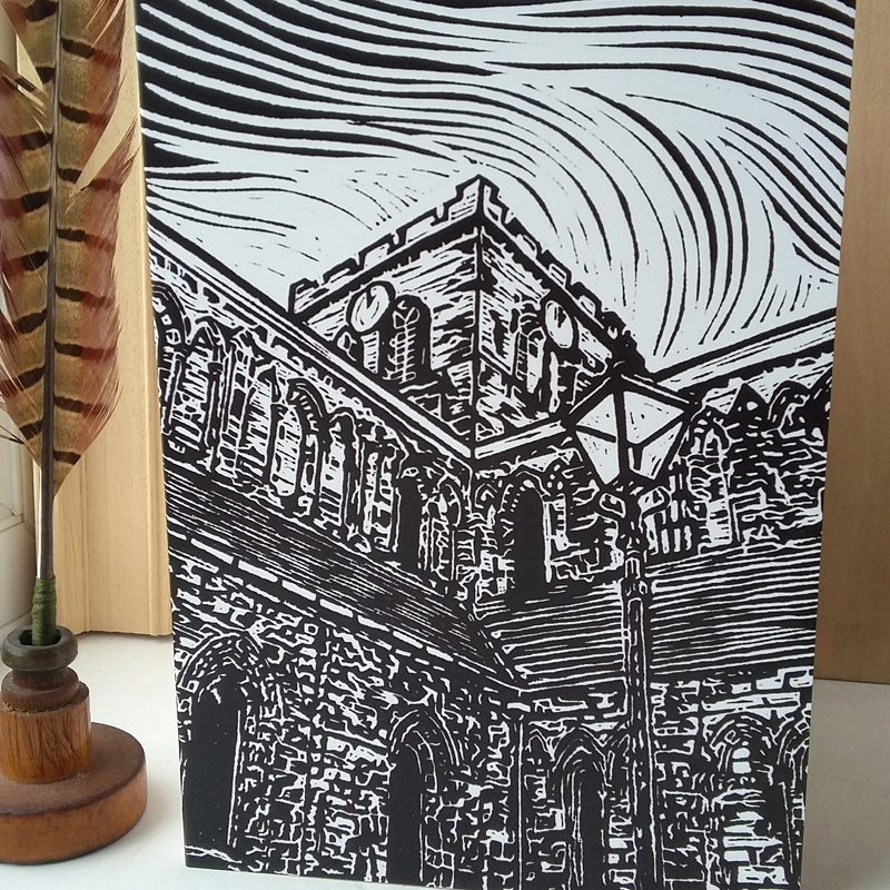 Hexham Abbey A5 greetings card