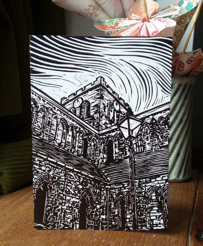 Hexham Abbey greetings card