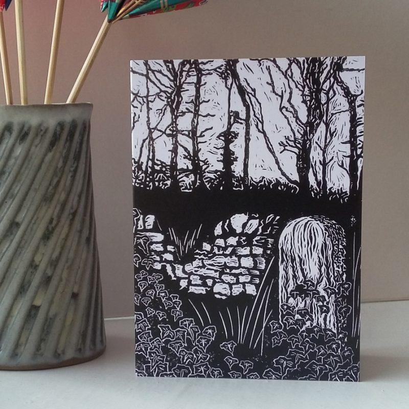 The Waymarker greetings card